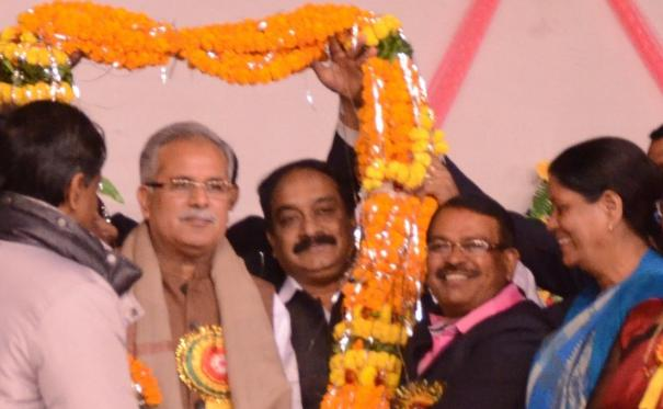 Christian community has significant contribution in the field of social service: Mr. Bhupesh Baghel