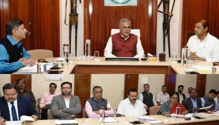Chief Minister, Bhupesh Baghel, Forest Minister, Mohammad akbar, Departments, On budget proposals, Discussion,