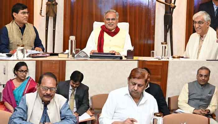 Chief Minister, Bhupesh Baghel, Presided over, Cabinet meeting, Many important decisions,