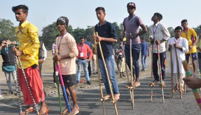 youva festival, Chhattisgarh, Local sports,