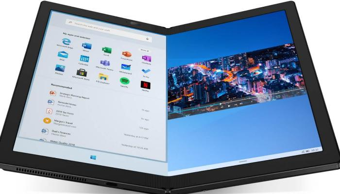 Smart foldable pc, Thinkpad x1 fold pc, The launch,