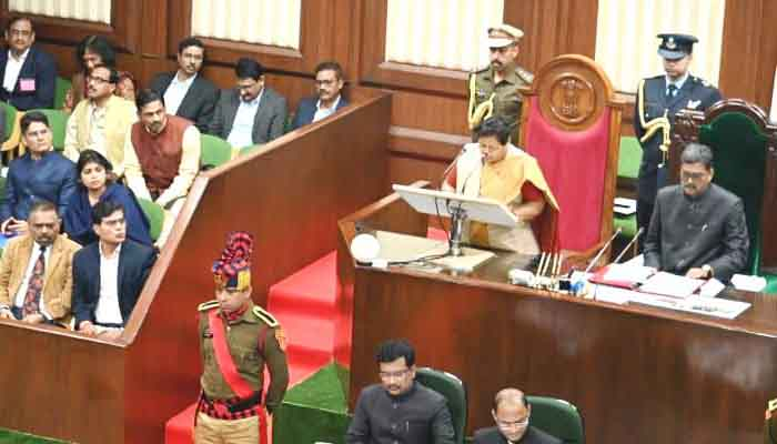Governor, Anusuiya Uike, Chhattisgarh, Fifth assembly, 2020 first session,