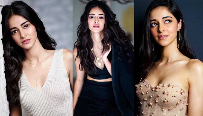 Bollywood actress, Ananya Pandey, Shooting , film Khali pili,