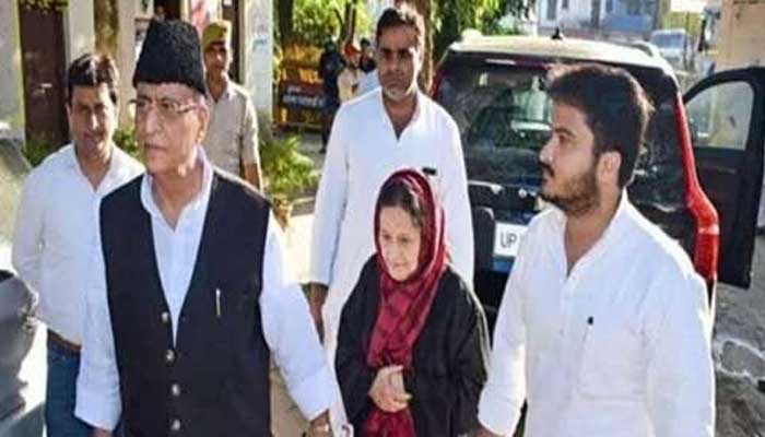 Samajwadi Party, MP Azam Khan, Wife tanzin Fatima, Son Abdulla, judicial custody,