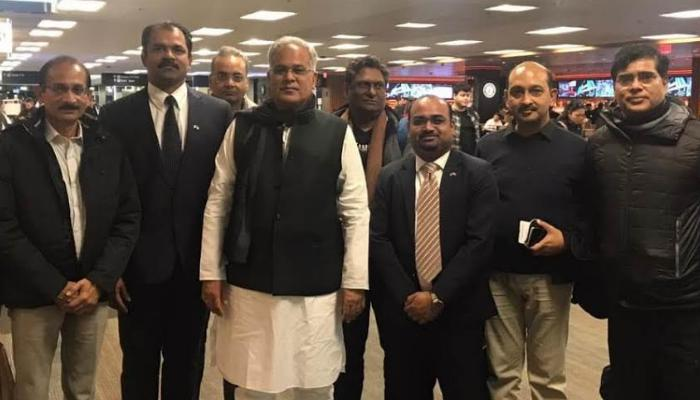 Chief Minister, Bhupesh Baghel, Stay in America, Investors, Industries in Chhattisgarh,