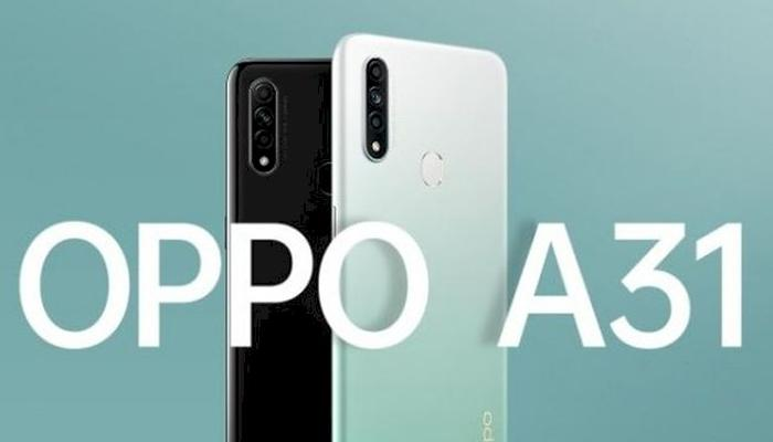In the Indian market, A31 (2020), Handset launch, 4 GB RAM, 64 GB storage variants,