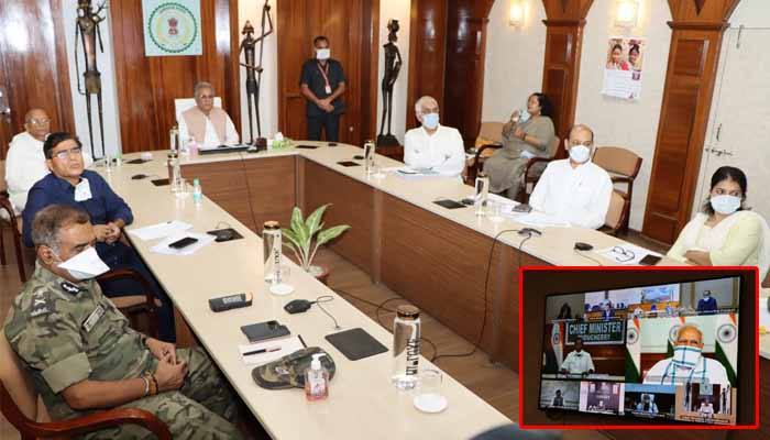 Prime Minister Narendra Modi, Chief Ministers of States, Video conference, Bhupesh Baghel,