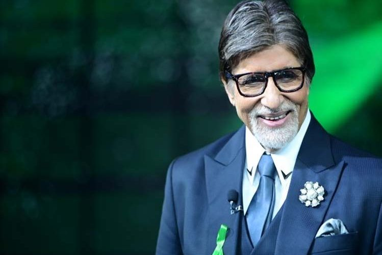 Superstar Amitabh Bachchan announced to donate, shared photo with green ribbon| entertainment News in Hindi