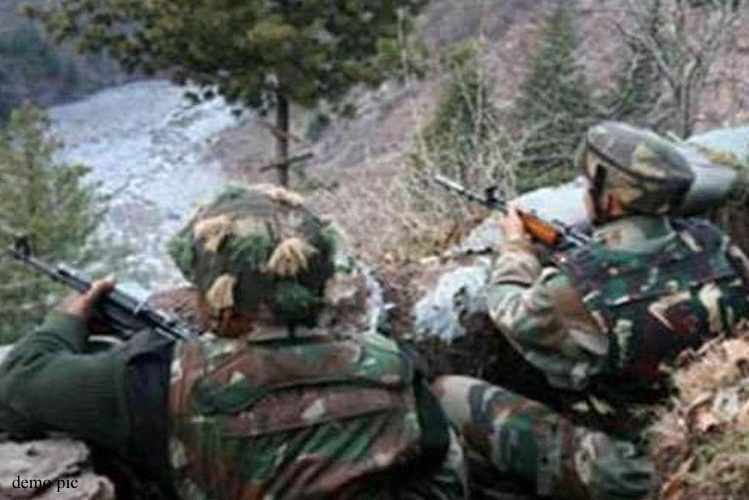 Encounter between security forces and terrorists started in South Kashmir| national News in Hindi