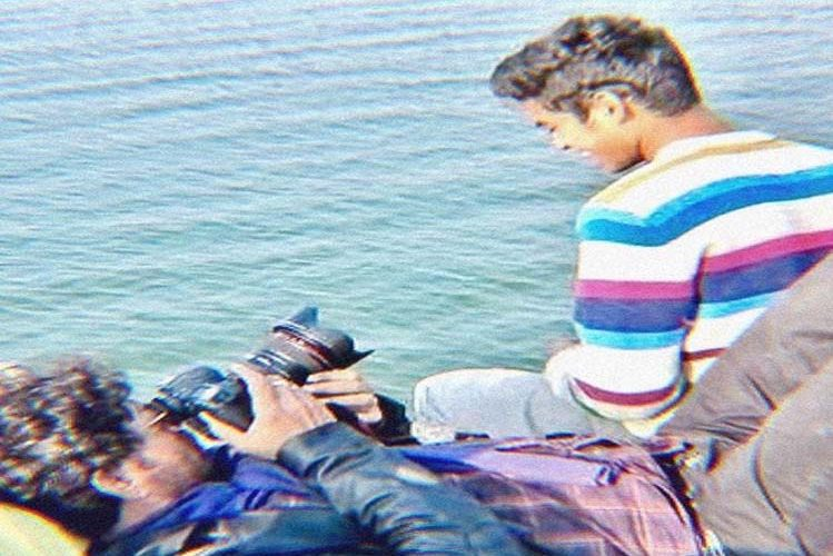 Babil remembers father Irrfan Khan, sharing a photo taken by the lake| entertainment News in Hindi