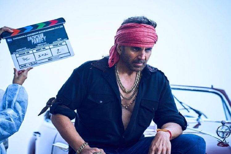Akshay Kumar released the first look of the film Bachchan Pandey| entertainment News in Hindi