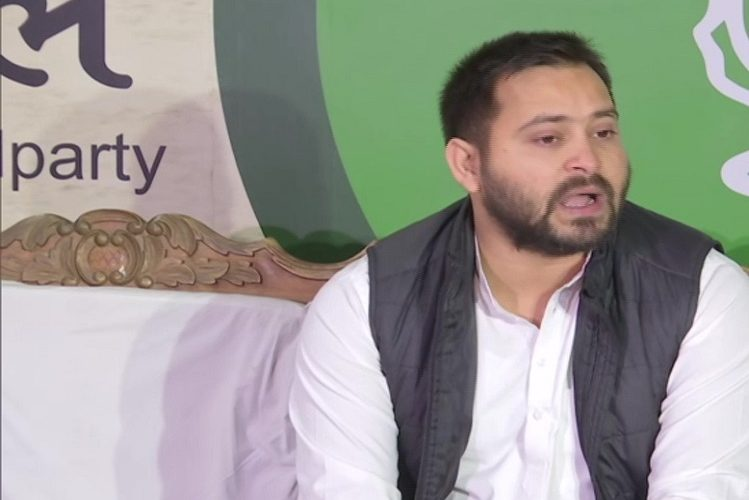 Bihar: Tejashwi Yadav told Bihar's 'Crime Capital of the Country', told Nitish Kumar to be a thief-door CM| national News in Hindi