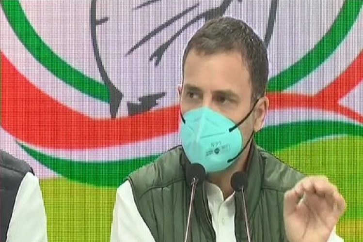 Rahul Gandhi released booklet on agricultural laws| national News in Hindi