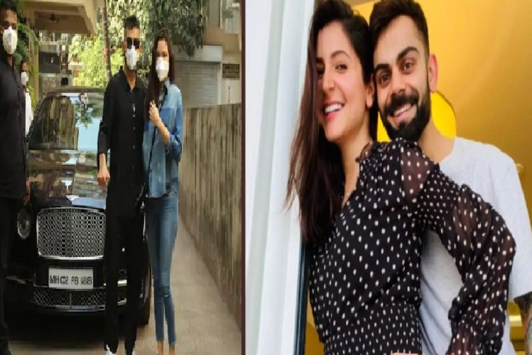 Mumbai: Anushka and Virat, who came in front of the camera for the first time after becoming parents, refused to take pictures of their daughter.| entertainment News in Hindi