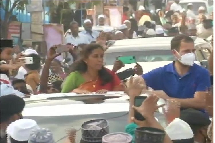 Assembly Election 2021: Rahul Gandhi, who is pouring full power in Tamil Nadu assembly elections, showed power to opposition by doing road show in this district today| national News in Hindi