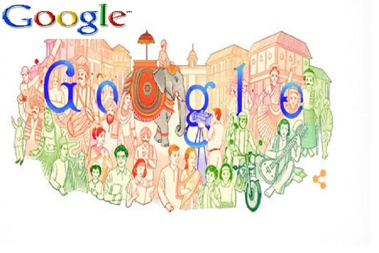 72nd Republic Day Special: Google's doodle this time, reflecting India's vibrant art and cultural heritage, has included people of all religions, read| national News in Hindi