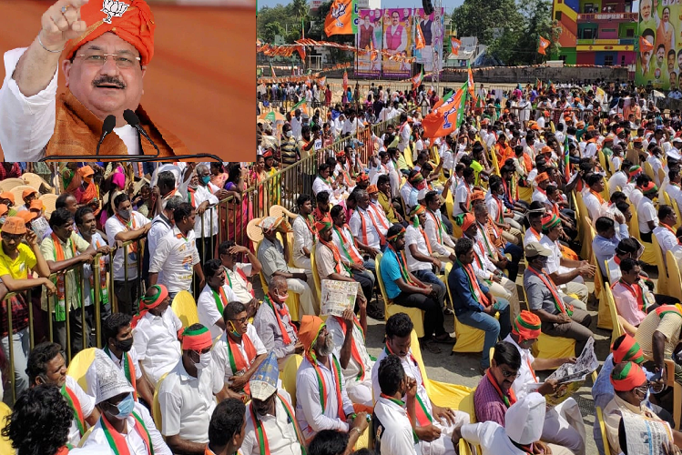 Puducherry: BJP president said in Puducherry in the Union Territory – 52% population remained below poverty line during 35 years of Congress rule …! Now Puducherry will be corruption free, Puducherry will change, see lotus will bloom here too| national News in Hindi | Puducherry : केंद्र शाषित प्रदेश पुदुचेरी में BJP अध्यक्ष बोले