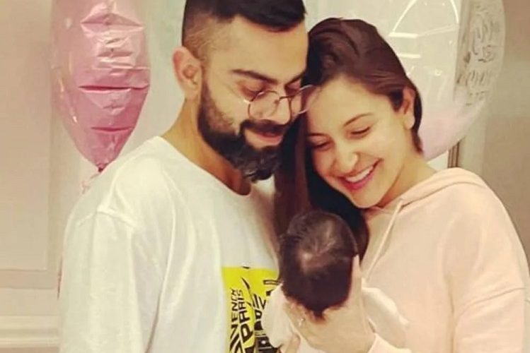 This is Virat-Anushka's daughter's name, first photo of share| entertainment News in Hindi