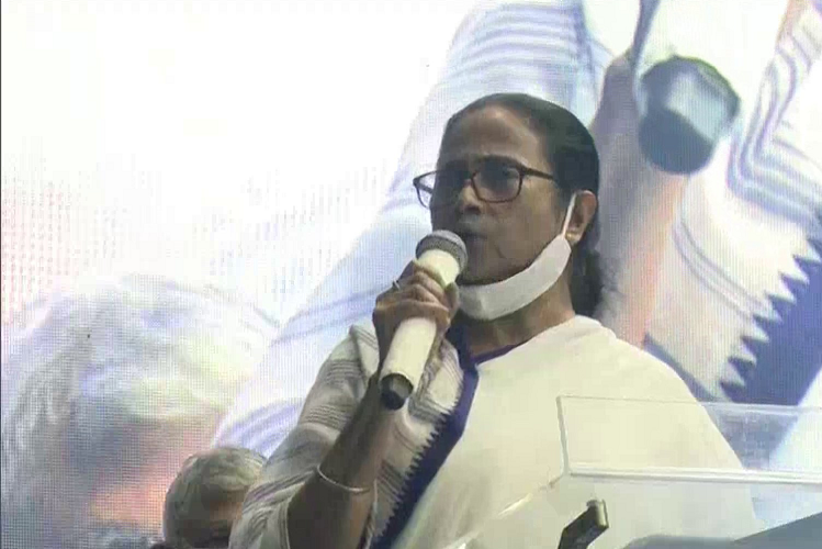 WB: Mamata Banerjee told BJP that a gas balloon that can fly by hand anytime, TMC involving mother, mother and manus will return to power| national News in Hindi