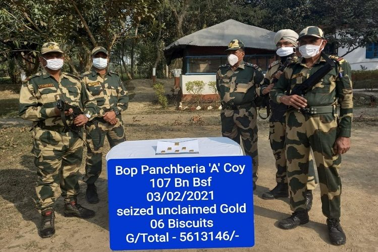 West Bangal: Gold smuggling increased before elections in Bengal, today BSF confiscated so much gold, this gold price is so much in international market| national News in Hindi