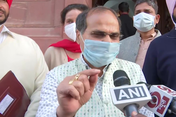 Walkout: Adhir Ranjan Chaudhary said after walkout from Lok Sabha, PM Modi does not want to discuss the killing of farmers, this situation arose if we raised questions  national News in Hindi