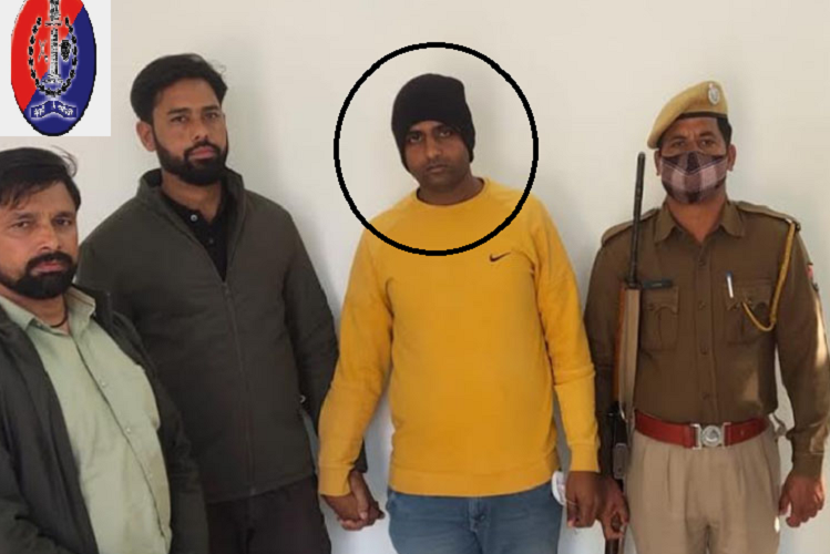 Rajasthan: This big criminal of the most wanted papala Gurjar gang came under the grip of the police… !, arrested along with AK-47 from Kasola, Haryana| national News in Hindi