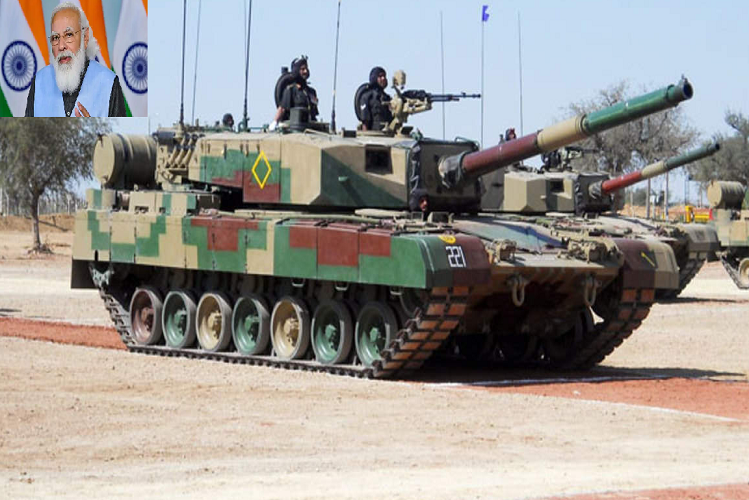 DRDO: 118 'Made in India' Arjun tanks to join Indian Army, PM Modi to dedicate to Army in Chennai on Valentine's Day, costing 8400 crores| national News in Hindi