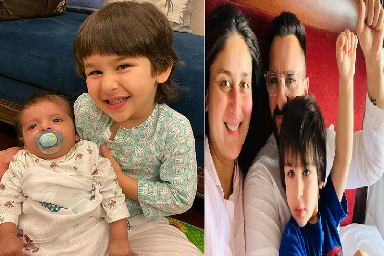 Viral post: Kareena Kapoor's delivery date was February 15, if it was five days longer then the fans on social media could not keep up, then the child sitting on Timur's lap told his younger brother.| entertainment News in Hindi