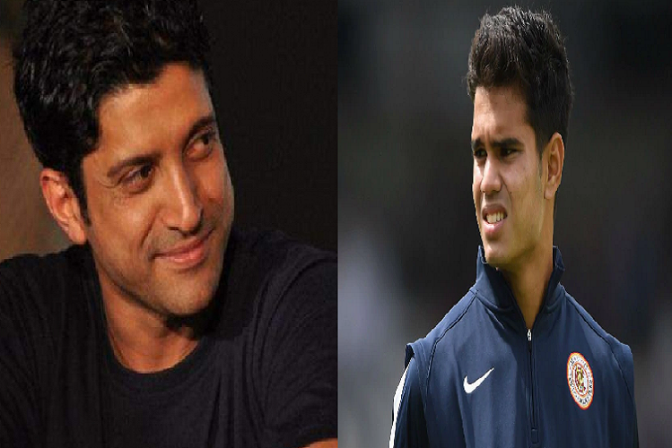 Nepotism in Cricket: After the selection of Arjun Tendulkar in the IPL, there was a debate in the country about nepotism again …! Farhan Akhtar said – don't kill his excitement before it starts| sports News in Hindi | Nepotism In Cricket : IPL में अर्जुन तेंदुलकर के चयन के बाद देश में फिर छिड़ी नेपोटिज्म को लेकर बहस…! फरहान अख्तर बोले