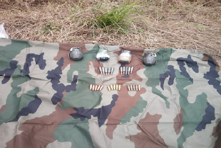 JandK: 2 years of Balakot air strike, Indian Army today captured a terrorist from the forests of Balakot with grenades and bullets| national News in Hindi