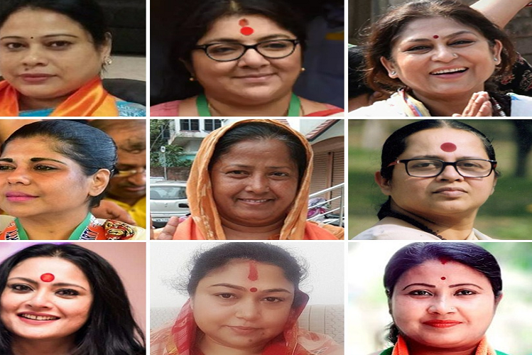 West Bangal: Poster war broke out in Bengal with the announcement of assembly elections, aunt and daughter fight between TMC and BJP| national News in Hindi