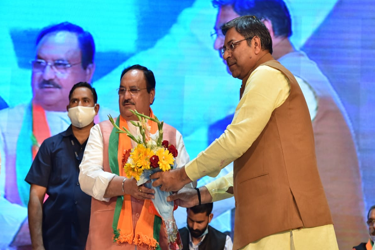 Jaipur: Nadda said, due to the groupism and tussle in Rajasthan BJP, leaders are made by work, not by anyone's saying, our acceptance will increase only when we take everyone along| national News in Hindi