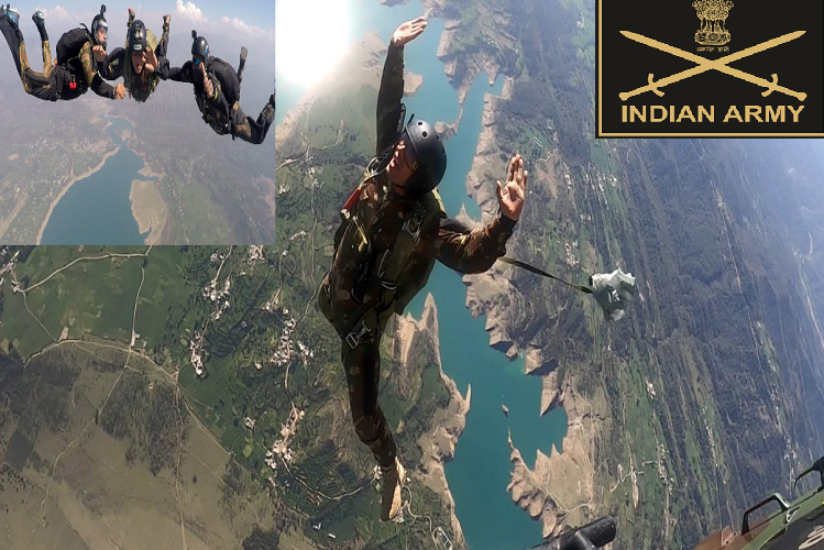 Combat Free Fall: Indian Army has taught the soldiers of Turkmenistan the art of 'Combat Free Fall', salute the courage of these soldiers jumping from the height of 30 thousand feet …! Who would not have seen such a video full of passion and passion?| national News in Hindi