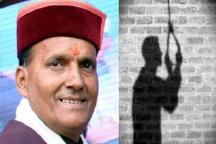 Delhi : Ramswaroop Sharma, BJP MP from Mandi in Himachal Pradesh, committed suicide by hanging himself in Delhi, upset with bitterness in family relations| national News in Hindi