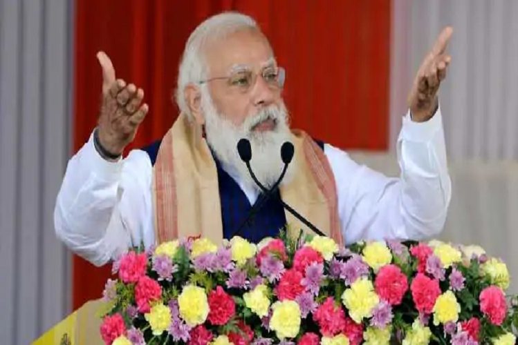 In Karimganj, Assam, PM Modi targeted the Congress, saying – neither policy nor leader can go to any extent with them.| national News in Hindi | Election rally : असम के करीमगंज में पीएम मोदी ने कांग्रेस पर साधा निशाना, बोले