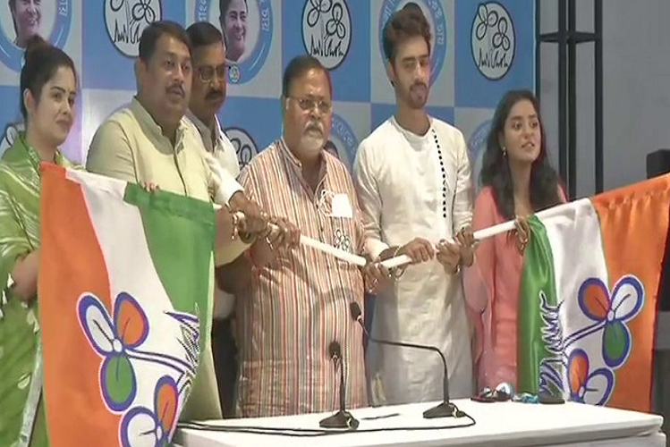 Assembly Election 2021: these Three celebrities of Tollywood industry chose Mamata Didi's 'Saath', this BJP leader also took TMC membership  national News in Hindi