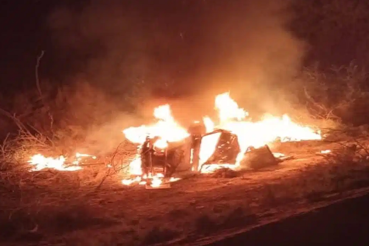 Rajasthan: Jawans had come to Sriganganagar district's Suratgarh army base for maneuvers, fire caused by Gipsy overturn, three soldiers burnt alive, 5 severely scorched| national News in Hindi