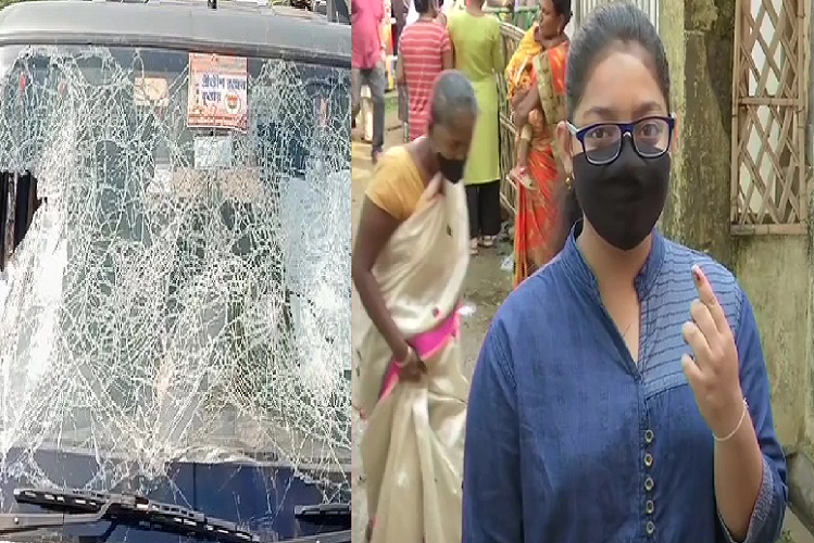 Assembly Election 2nd Phase Of Polling: TMC-BJP activists clash between polling, 37.42 per cent voting till 11.30 am in Bengal, sluggish polling pace in Assam | national News in Hindi