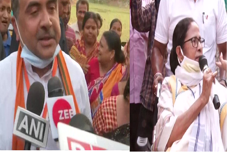 Assembly Election polling: bumper voting in Bengal in second phase, Mamata banerjee problems increased in Nandigram, 81%voting| national News in Hindi