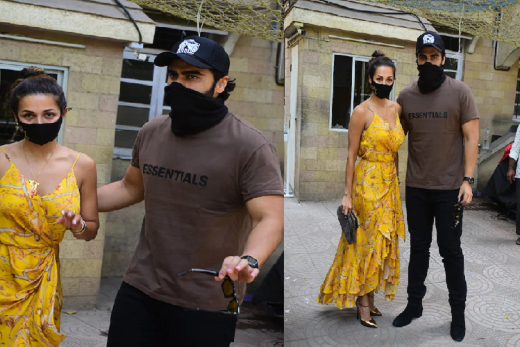 Malaika takes Arjun Kapoor home to meet his parents for Easter celebrations, killer style was seen in a backless yellow dress, see photos | entertainment News in Hindi