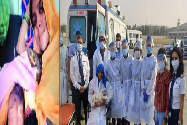 Jipur Airport: The father was traveling from hospital to hospital to get the birth certificate of a child born in the air on an IndiGo flight ..! Hospitalists did not admit by saying expensive treatment | national News in Hindi