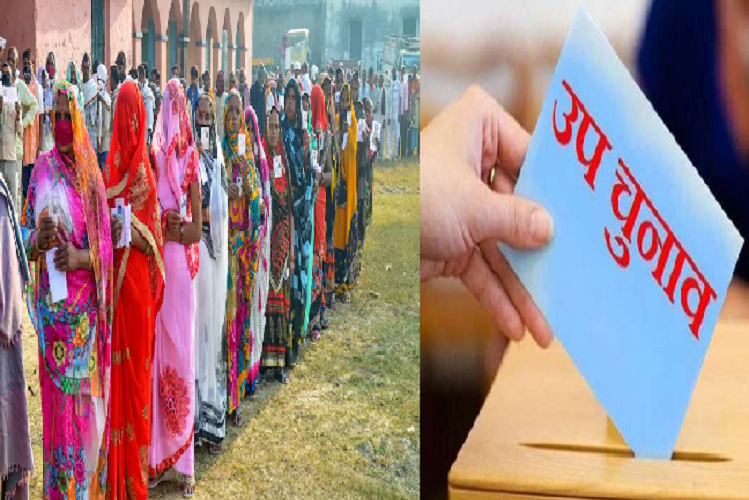 Rajasthan Byelection 2021: Votes will be cast on 3 seats of the state on April 17, election campaign will stop at 6 pm today, only 5 people will be able to campaign under the Corona Protocol | national News in Hindi