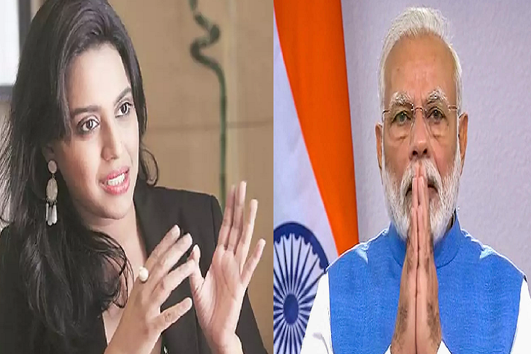 Instagram story: Swara Bhaskar attacks on PM Modi, wrote in Insta post – Temple is being built, do not be ashamed by asking for beds in hospitals ..!   entertainment News in Hindi   Instagram Story : स्वरा भास्कर ने पीएम मोदी पर किया तीखा हमला, इंस्टा पोस्ट में लिखा