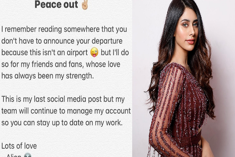 Bollywood News: Bollywood actress warina hussain made a distance from social media, shared the post and wrote – this is my last post… | entertainment News in Hindi | Bollywood News : बॉलीवुड की इस अदाकारा ने सोशल मीडिया से बनाई दूरी, पोस्ट शेयर कर लिखा