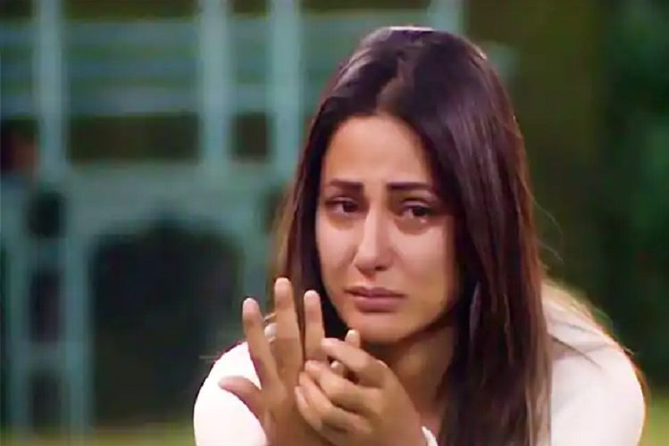 Actress Hina Khan became Corona positive after father's death, said this| entertainment News in Hindi