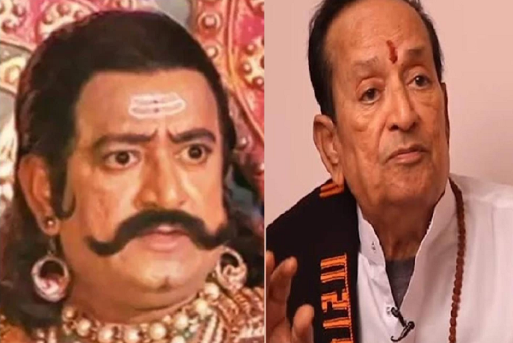 Fact Check: 'Ravan' of 'Ramayana' is Alive..! rumors of the death of Arvind Trivedi are being discussed again on social media during the Coronasal period, 'Laxman' sunil lahri tweet about this | entertainment News in Hindi