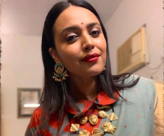 Swara Bhaskar once again in trouble for her frank style, trolled by users| entertainment News in Hindi
