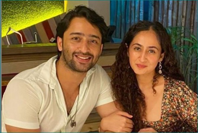 Good News: Ruchika Kapoor is pregnant, Shaheer Sheikh shares picture| entertainment News in Hindi