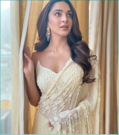 Kiara wears such an expensive saree at Shershaah trailer launch event that everyone amazed| entertainment News in Hindi