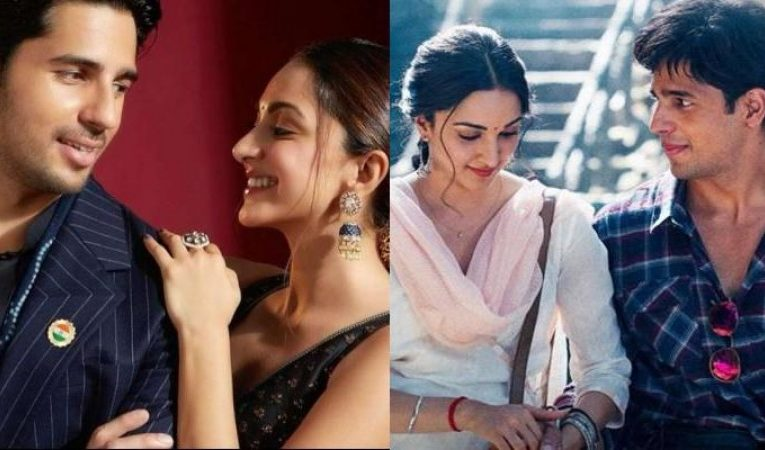 Kiara Advani and Sidharth Malhotra's video blows fans' senses, know what's so special?  entertainment News in Hindi